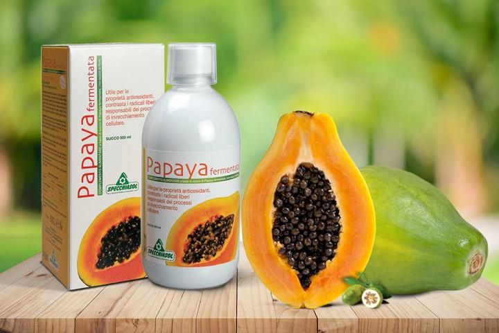 együttes kezelés papayával