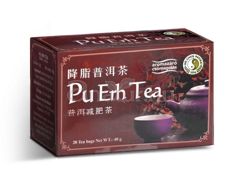 fogyás pu erh teával)