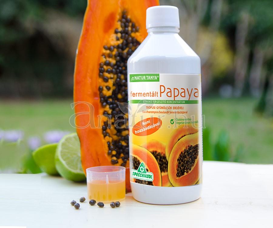 Papaya enzimek segíthetnek a fogyásban, Ananász Papaya enzim kapszula 90db