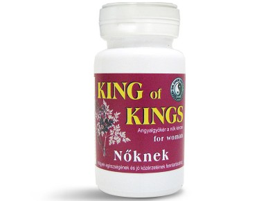 Dr. Chen King of Kings Női kapszula 500mg x 50db -10%!!!