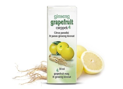 Dr. Chen Grapefruit cseppek ginsenggel (30 ml) -10%!!!